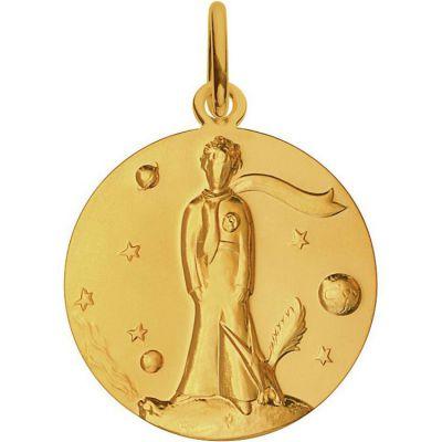Médaille Le Petit Prince par Renée Mayot 18 mm (or jaune 750°)  par Monnaie de Paris