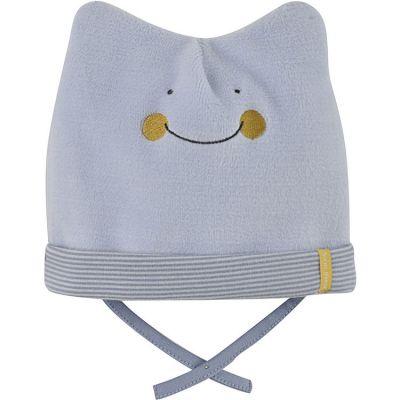 048ee3fabb22f Bonnet de naissance Petit Yeti ciel (0-1 mois) Sucre d'orge
