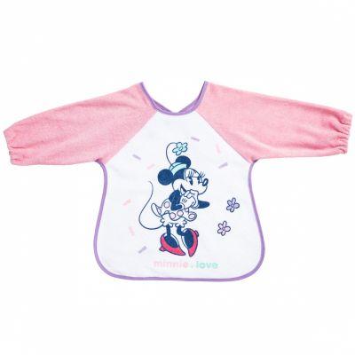 Bavoir à manches Minnie Love  par Babycalin