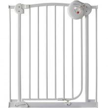 Barrière de sécurité auto close en métal blanc  par Angelcare