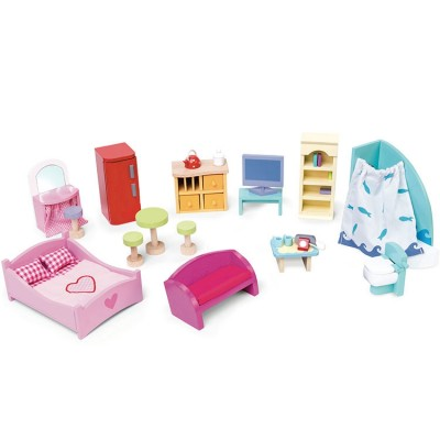 Assortiment meubles pour maison de poupées Furniture pack  par Le Toy Van