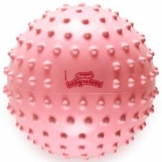 Balle tactile classique rose