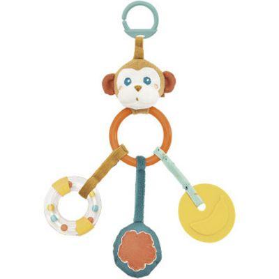 Hochet multi-activités à suspendre Sam le singe Kaloo