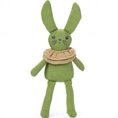 Peluche lapin Pauline Popping Green (30 cm)