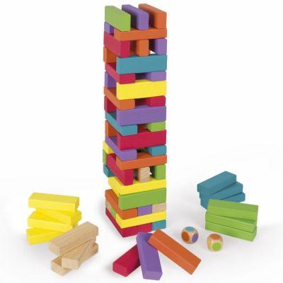 Jeu de construction Equilibloc color (60 pièces)  par Janod