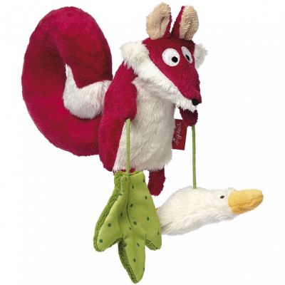 Peluche à suspendre renard (24 cm) Sigikid