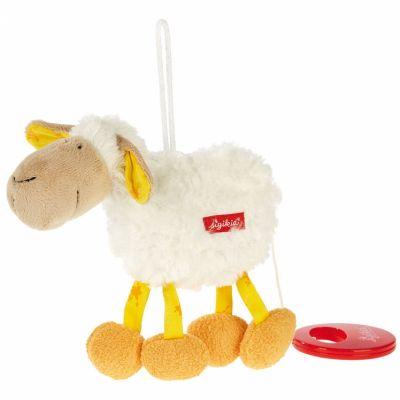 Peluche musicale à suspendre mouton (17 cm) Sigikid