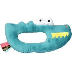 Hochet peluche crocodile Jungle Boogie (17 cm)