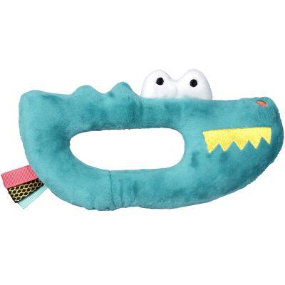 Hochet peluche crocodile Jungle Boogie (17 cm)  par Ebulobo