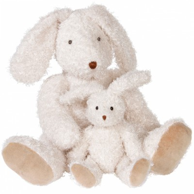 Peluche grand lapin (36 cm) Moulin Roty