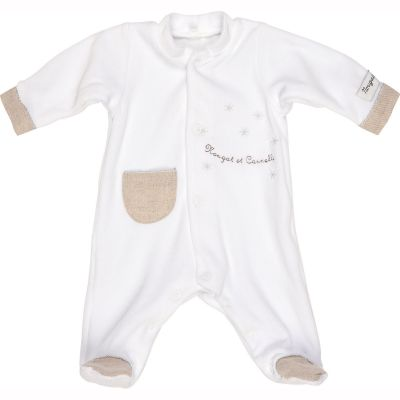 Pyjama chaud Nougat et Cannelle (1 mois)  par Nougatine