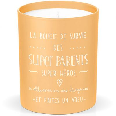 Bougie de survie des super parents