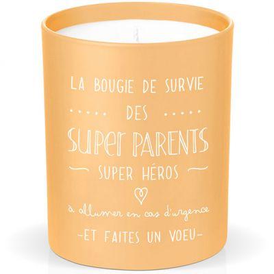 Bougie de survie des super parents  par Créa Bisontine