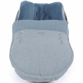 Housse et couvre-jambes pour siège auto groupe 0 Bohemian bleu - Pasito a pasito