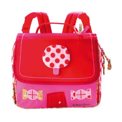 site professionnel magasin officiel prix favorable Petit cartable maternelle rose fille Liz