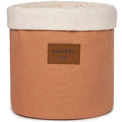 Panier de toilette Tango Pure Line sienna brown (24 x 19 cm)