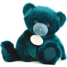 Peluche ours bleu paon La Peluche (30 cm)