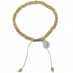 Bracelet Beads perles dorées