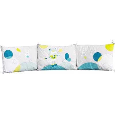 tour de lit patachon pour les lits 120 x 60 et 140 x 70 cm. Black Bedroom Furniture Sets. Home Design Ideas