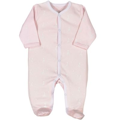 Pyjama léger rose clair Sophie la girafe (3 mois)  par Trois Kilos Sept