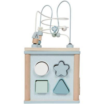 Cube d'activités Adventure blue  par Little Dutch