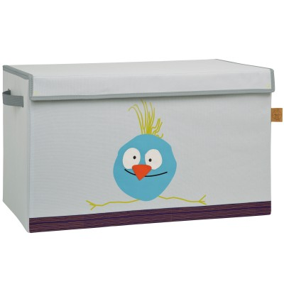 coffre jouet caisse de rangement wildlife oiseau. Black Bedroom Furniture Sets. Home Design Ideas