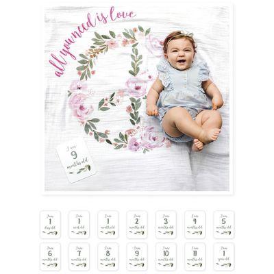 Cartes étapes et maxi lange All you need is love (7 cartes)  par Lulujo