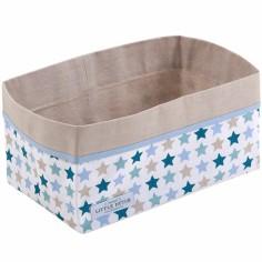 Panier de toilette Mixed stars mint (25 x 15 cm)