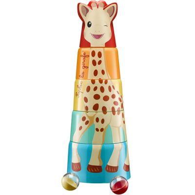 Tour géante de Sophie à empiler  par Sophie la girafe