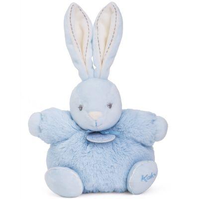 Coffret peluche P'tit lapin bleu Perle (18 cm) Kaloo