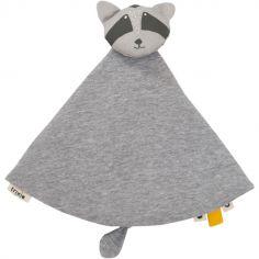 Doudou plat raton laveur Mr. Raccoon