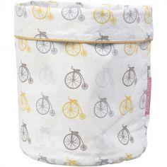 Panier de toilette en coton bio grand-bi Lucien (23 x 16 cm)
