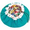 Sac à jouets 2 en 1 turquoise - Play&Go