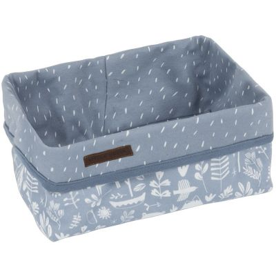 Panier de toilette Adventure blue (25 x 15 cm)  par Little Dutch