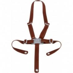 Harnais de sécurité pour chaise haute Ovo brun imitation cuir