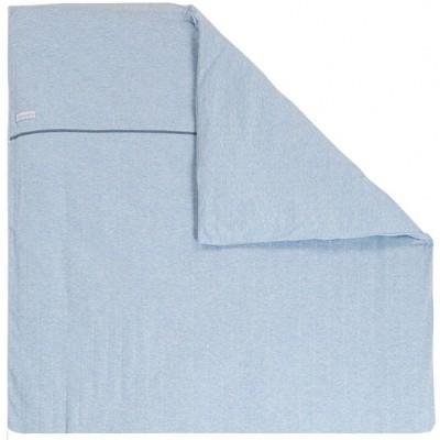 Housse de couette pour berceau blue melange 80 x 80 cm - Housse de couette 80 x 120 ...