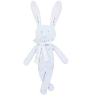 Peluche Augustin le lapin bleu (40 cm)  par Tartine et Chocolat