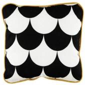 Coussin carré Joe Ecaille noire (19 x 19 cm) - Nobodinoz