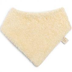 Bavoir bandana vanille So Cute