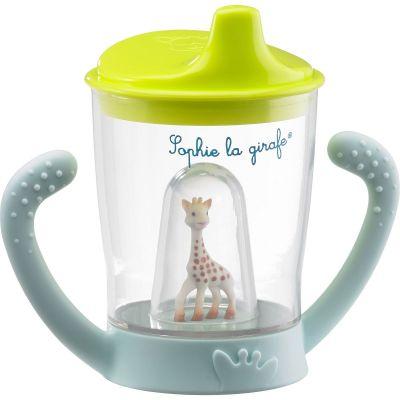 Tasse anti-fuite mascotte Sophie la girafe  par Sophie la girafe