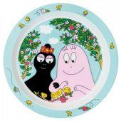 Assiette plate Barbapapa - Petit Jour Paris