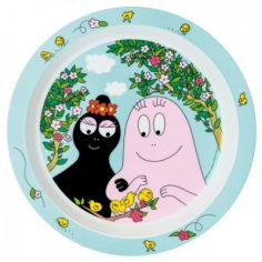 Assiette plate Barbapapa