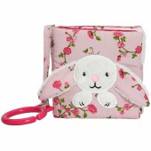 Livre bébé à suspendre Pink Blossom lapin - Little Dutch