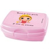 Boîte à goûter Quand je serai grande je serai princesse - Isabelle Kessedjian