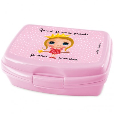 Boîte à goûter Quand je serai grande je serai princesse  par Isabelle Kessedjian