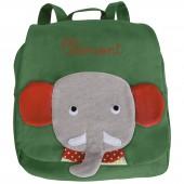 Sac à Dos éléphant Les Popipop personnalisable - Moulin Roty