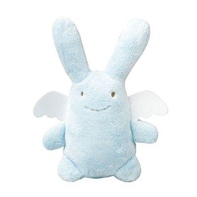 Ange lapin musical bleu ciel (24 cm) Trousselier