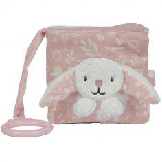 Livre bébé lapin Adventure pink