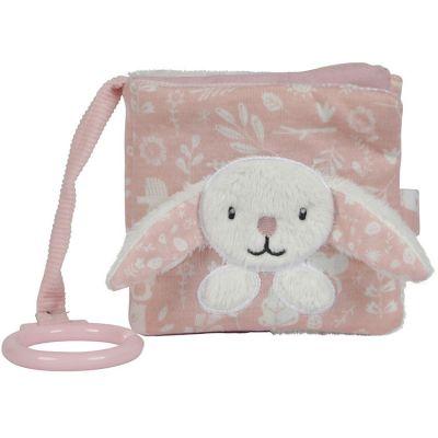 Livre bébé lapin Adventure pink  par Little Dutch