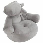 Pouf Sofa Lola vache gris Poudre d'étoiles (50 cm)  - Noukie's